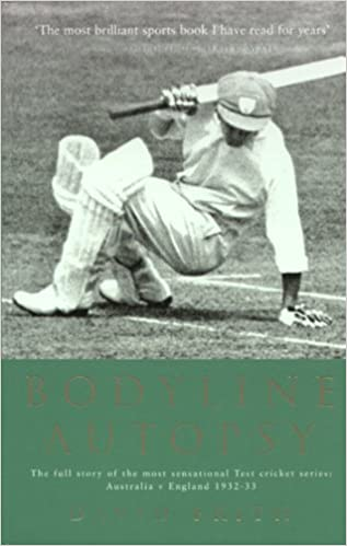The book recounts in detail the infamous 1932-33 Ashes series which came to be known for some hostile English bowling.